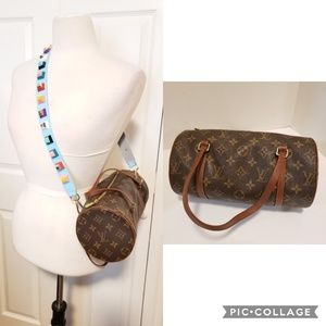 Louis Vuitton Vintage Monogram Canvas Papillon